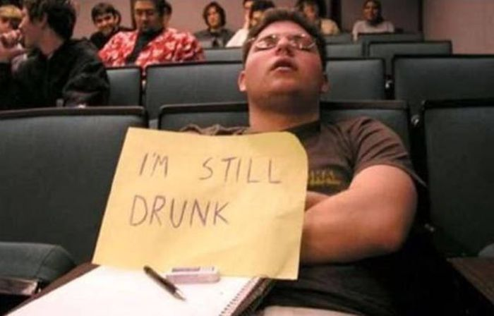 It Takes Some Serious Dedication To Get This Drunk (47 pics)