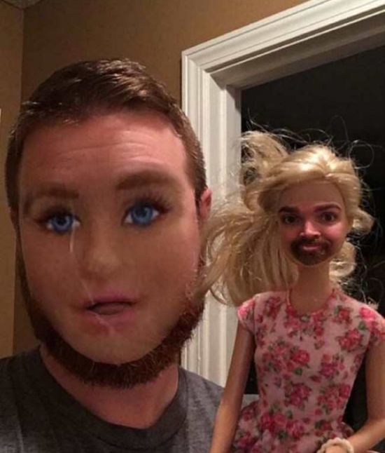 Face Swaps That Will Terrify You (19 pics)