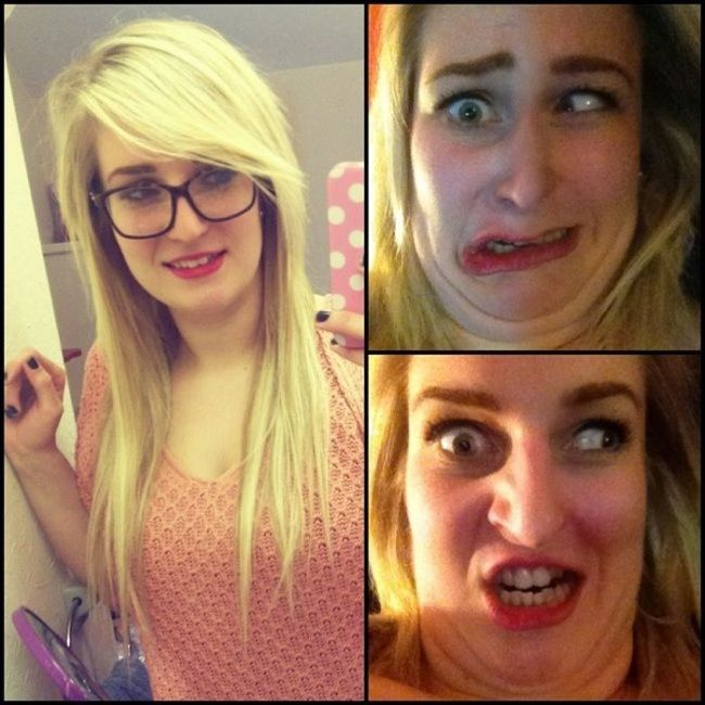 When Pretty Girls Make Ugly Faces (27 pics)