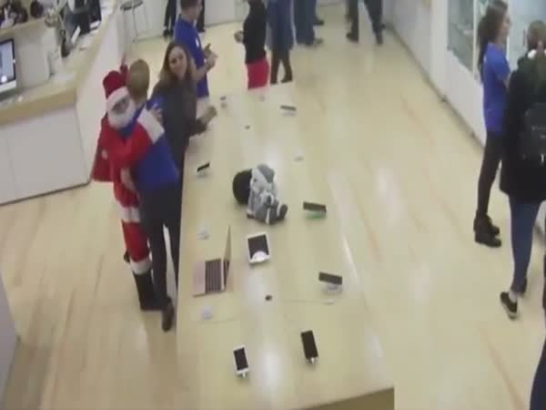 Santa Burglar
