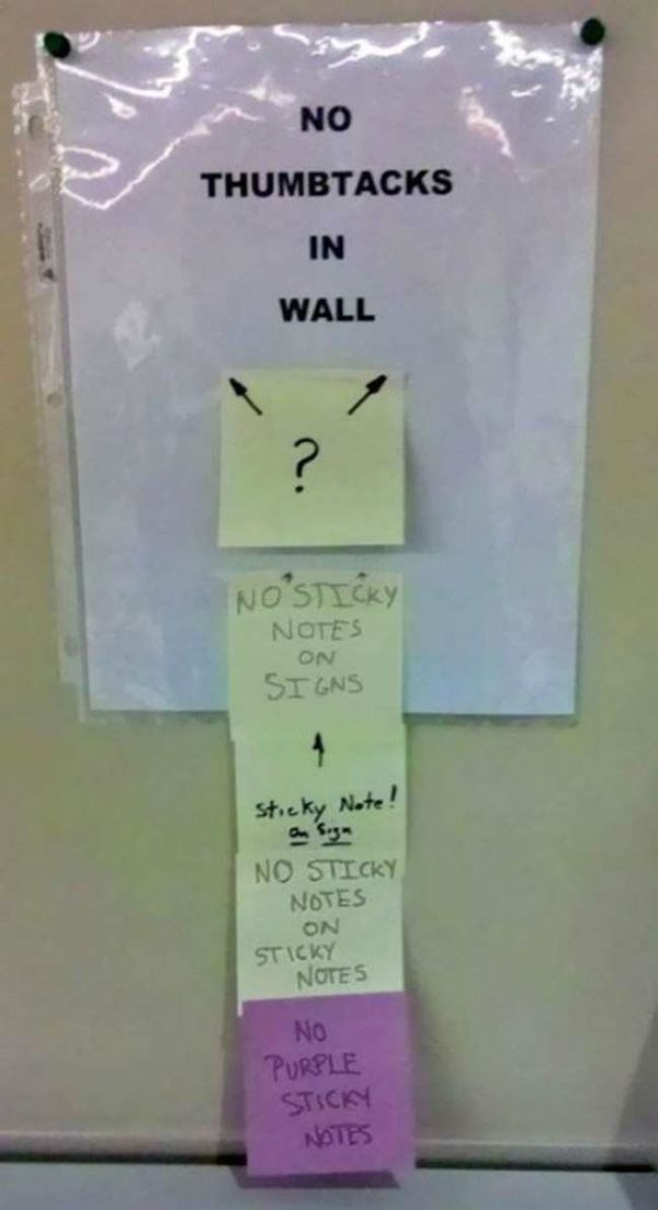 Wacky Office Signs Make The Workplace Fun (29 pics)