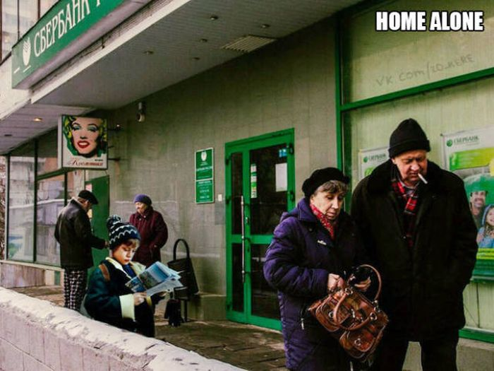 If Famous Movies Were Filmed In Russia (15 pics)