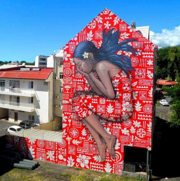 These Street Art Masterpieces Are Easy To Appreciate (19 pics)