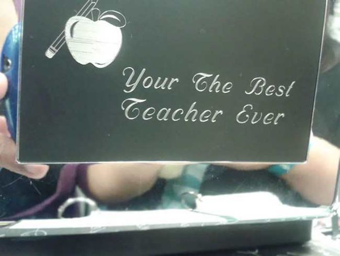 Incredible Spelling Errors That Will Crack You Up (24 pics)