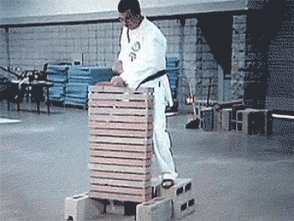 Fail Gifs That Will Remind You Not Everyone Is Good At Fighting (15 gifs)