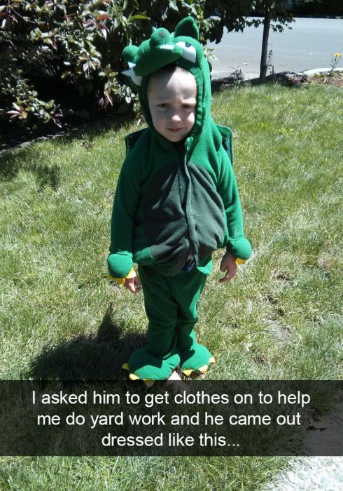 Hilarious Snapchats That Prove Life With Kids Is Hilarious (29 pics)