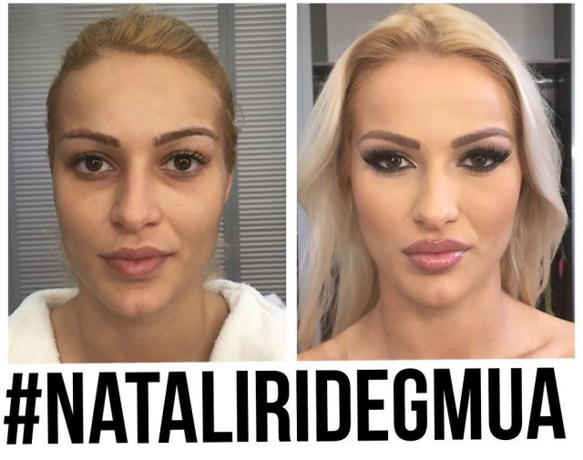 What European Porn Stars Look Like Before And After Makeup (49 pics)