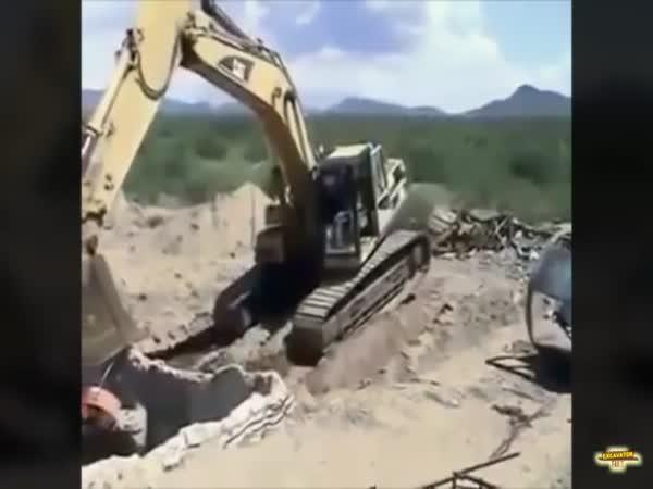 Excavator Fails