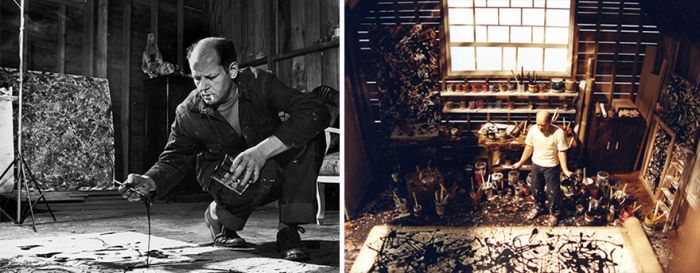 A Look Inside The Studios Of Famous Artists (30 pics)