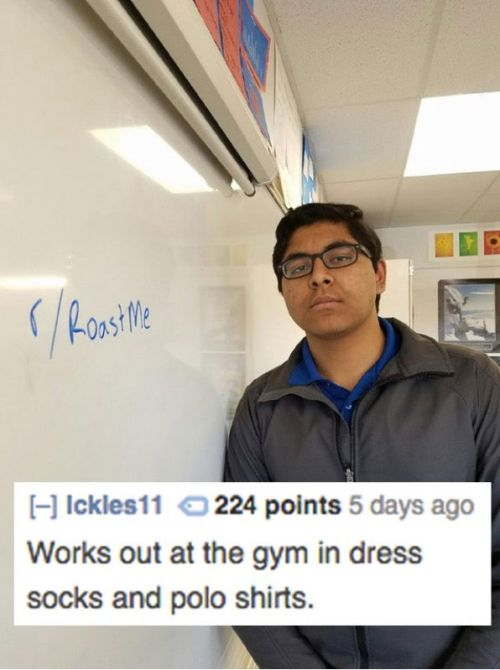 Savage Roasts You'll Almost Feel Guilty For Laughing At (19 pics)