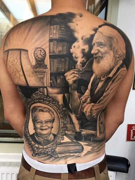 Amazing Tattoos That Are True Works Of Art (20 pics)