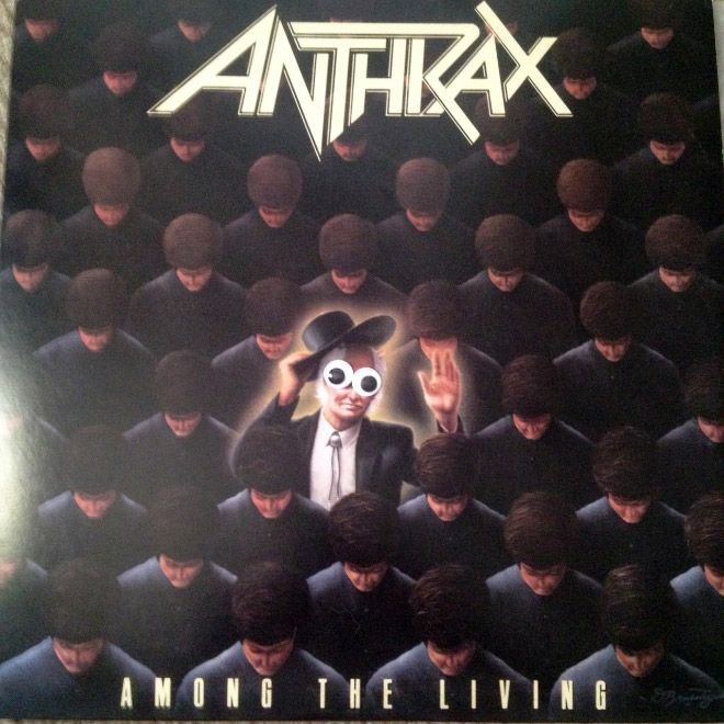 Metal Albums Look Less Scary When You Add Googly Eyes (14 pics)