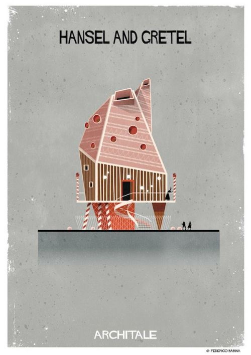 Architect Imagines The Homes Of Fairy Tale Characters (16 pics)