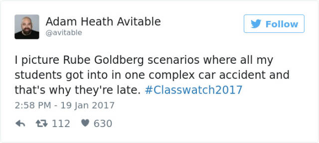 Teacher Shares Heartbreaking Twitter Story After No One Shows Up To Class (24 pics)