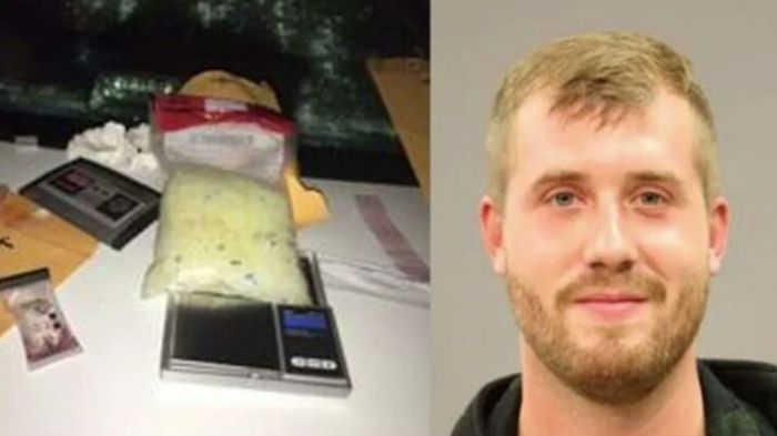 This Guy Deserves An Award For Mugshot Of The Year (2 pics)