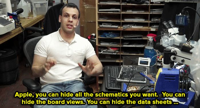 Repair Guy Calls Out Apple For Tricking Their Customers (9 gifs)