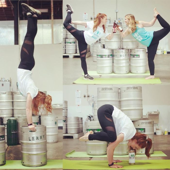Beer Yoga Is The Next Big Thing (10 pics)