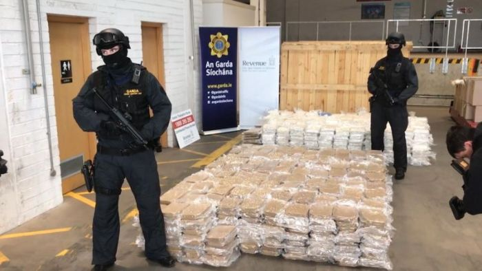 Irish Police Discover A Massive Marijuana Stash Hidden In Farm Equipment (6 pics)