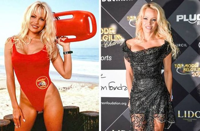 Iconic Women From 90s Back In The Day And Today (17 pics)