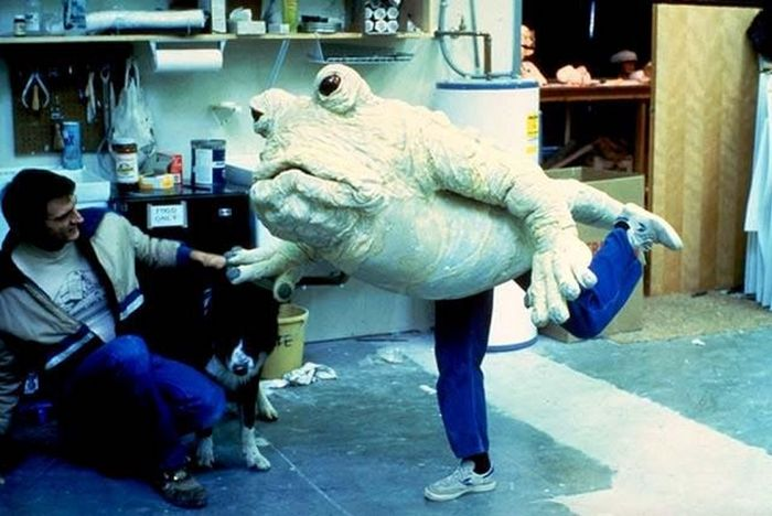 Rare Behind The Scenes Photos From Star Wars: Return Of The Jedi (39 pics)