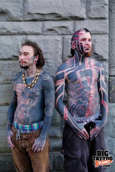 Proof That There Is Such A Thing As Too Much Piercing And Tattooing (48 pics)