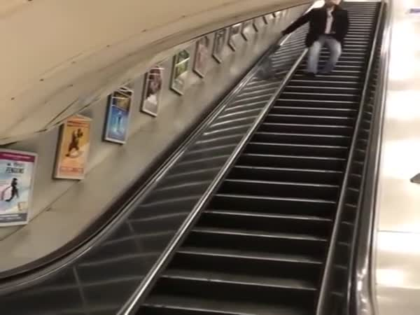 Drunk Guys Escalate Slide Ends In Failure