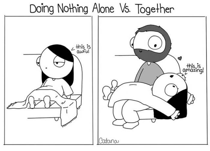 Catana Comics That Reveal The Hilarious Truth About Relationships (19 pics)