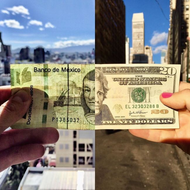 Couple Uses Joint Pictures To Meet In The Middle (16 pics)