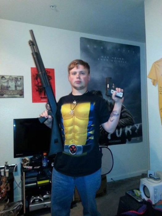 Intimidating Thugs From The Internet (14 pics)
