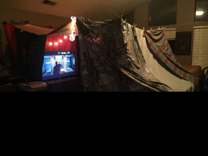 This Is The Best Adult Fort Ever Built (4 pics)