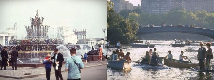 Photos Show Off How Different Moscow And New York Looked In 1969 (33 pics)