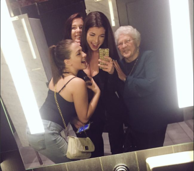 Teens Have A Blast With An Older Woman After Inviting Her To Join Their Squad (2 pics)