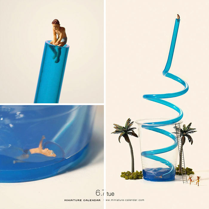 Little Dioramas Show Off The Amazing Lives Of Tiny People (35 pics)