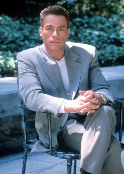Photos Of Action Star Jean-Claude Van Damme That Came Straight From The 90s (28 pics)