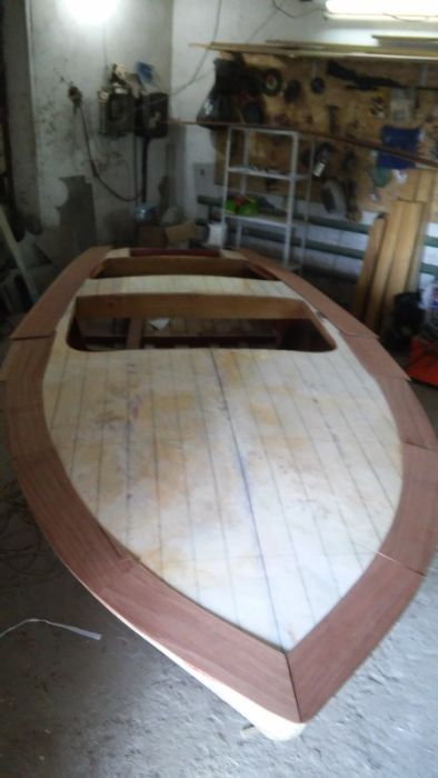 This Luxury Pleasure Boat Was Built By Hand Using Plywood (23 pics)