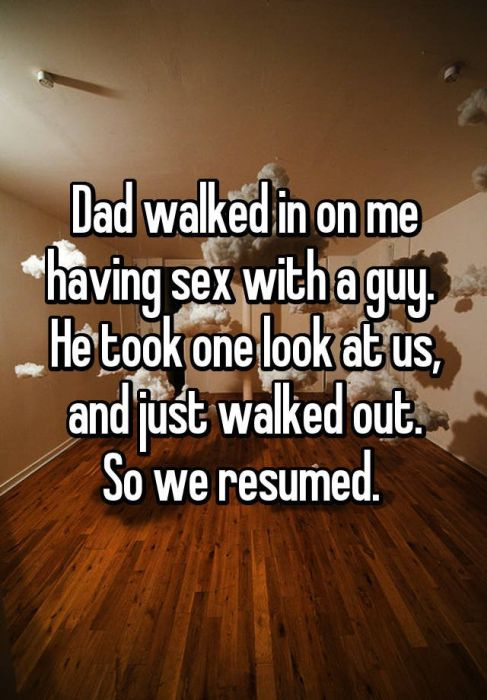 People Share Awkward Moments When Parents Caught Them Having Sex (20 pics)