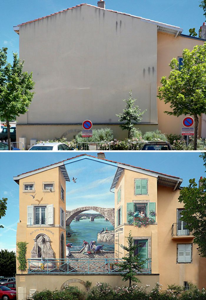Amazing 3D Street Art Illusions That Will Make Your Head Spin (21 pics)