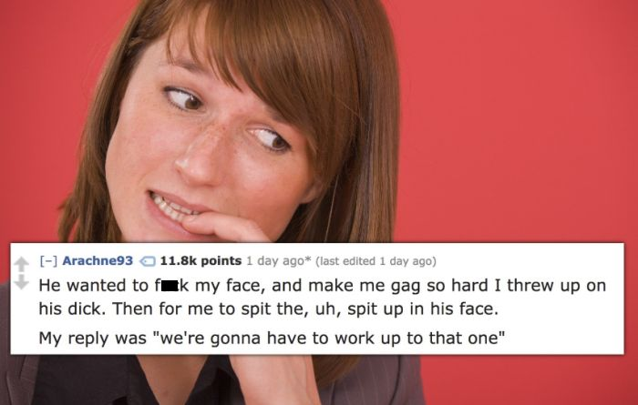 People Reveal The Oddest Sexual Requests They've Ever Received (15 pics)