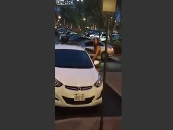 Woman Gets Pissed After Guy Calls Her Out For Parking In Handicap Spot