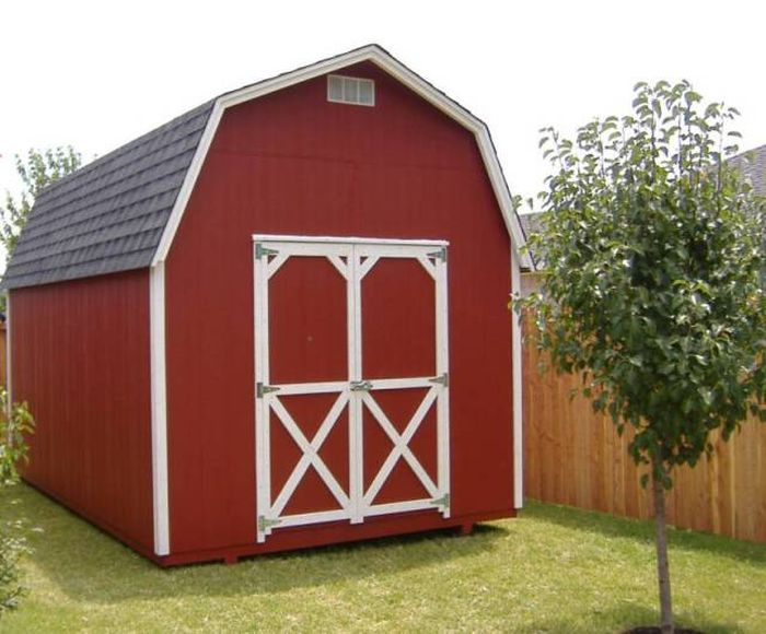 How To Turn An Empty Shed Into A Man's Paradise (16 pics)