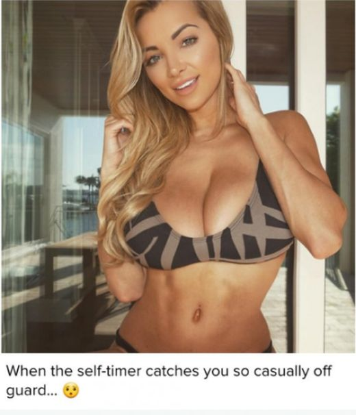 Women Who Accidentally Took Pictures Of Their Perfect Cleavage (11 pics)