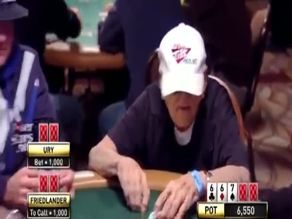 96-Year-Old Man Schools Cocky Poker Player