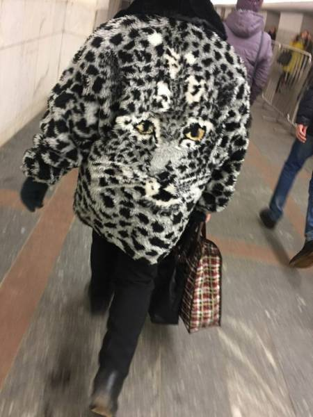 Brave Souls Who Wore Outrageous Outfits In Public (42 pics)