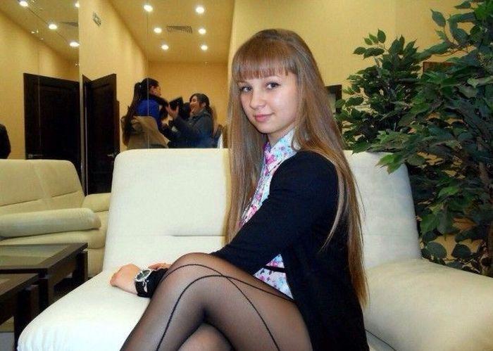 девушки в колготках фото вконтакте