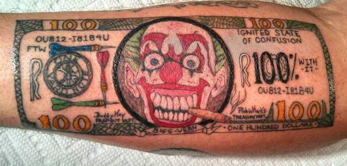 Tattoos That Will Make You Cringe And Doubt Your Sanity (20 pics)