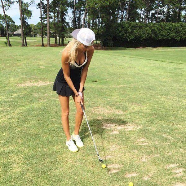 Pretty Golf Girl Elise Lobb (21 pics)