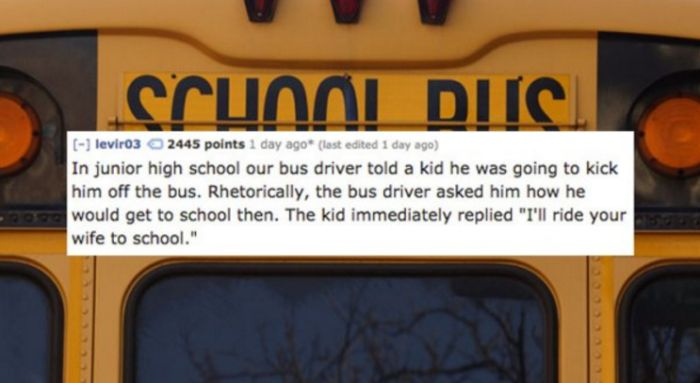 15 Of The Most Ruthless Comebacks In The History Of Comebacks (15 pics)