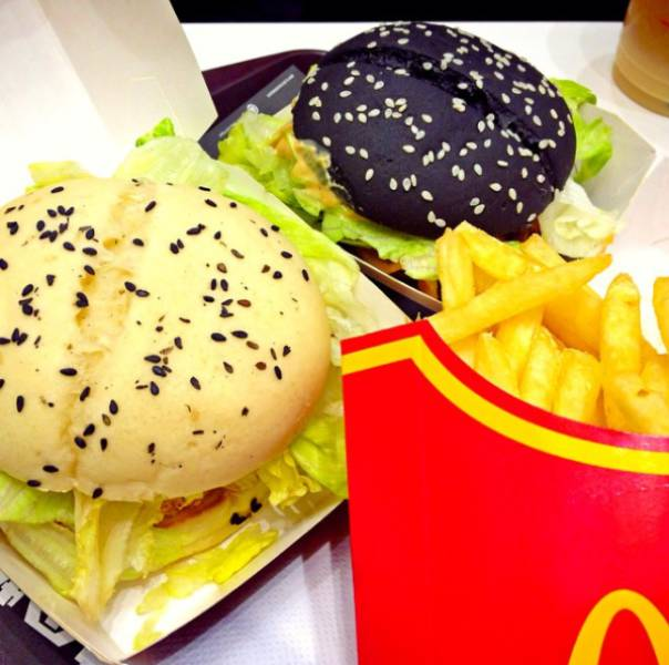 McDonald's Food From 17 Different Countries Around The World (17 pics)