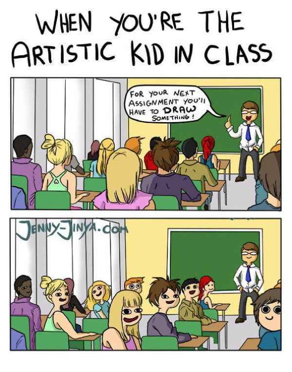 The Brutal Truth About The Life Of An Artist (7 pics)