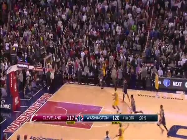 LeBron James Hits Incredible 3